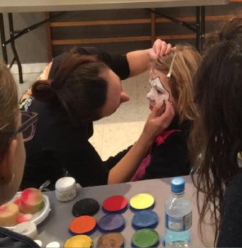 animation maquillage